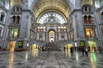 Bahnhofshalle Antwerpen von Mark Bolijn