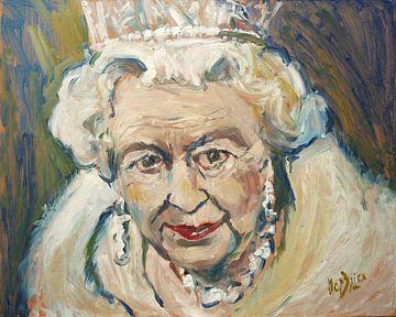Königin Elisabeth II. von Nop Briex