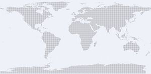 Very Dotted World (light blue)