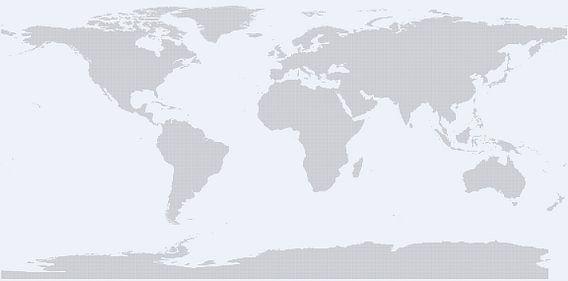 Very Dotted World (light blue) van Rebel Ontwerp