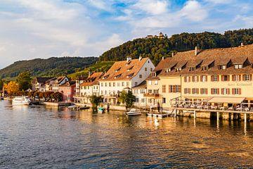 Stein am Rhein in der Schweiz von Werner Dieterich