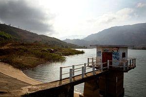 Stuwmeer in Vietnam