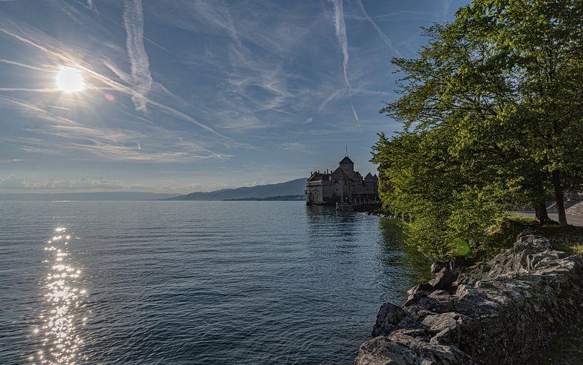 Château de Chillon, Montreux Zwitserland van Ingrid Aanen