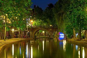 Jacobi-Brücke Oudegracht Utrecht