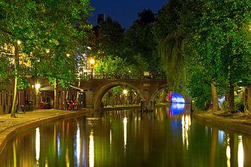 Jacobi-Brücke Oudegracht Utrecht von Anton de Zeeuw