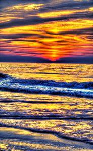 Sonnenuntergang am Meer von Bernd Müller