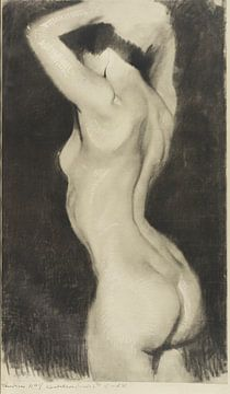 Zwanzig Studien, Akt Radierung, Max Klinger, 1914 von Atelier Liesjes
