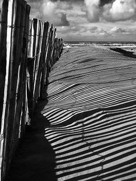 Schaduw op het strand van Toekie -Art
