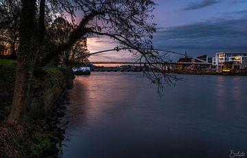 Maastricht Sunset van Danny Bartels