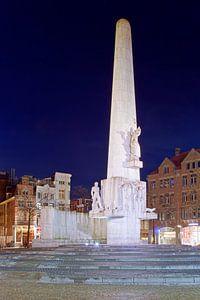 De Dam monument te Amsterdam