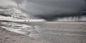 een strandwandeling