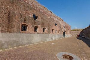 Fort Kijkduin bij Huisduinen, Den Helder, Noord Holland, Nederland