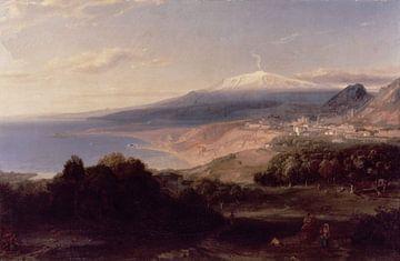Taormina und der Ätna - Carl Rottmann