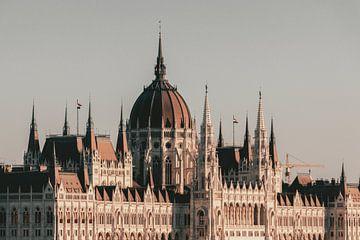 Parlamentsgebäude in Budapest - Nahaufnahme von Sophia Eerden