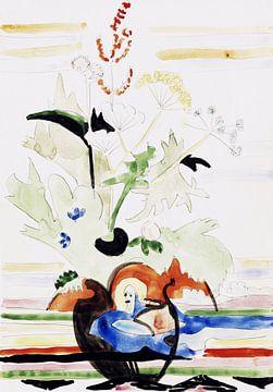 Stillleben mit Wiesenblumen, ERNST LUDWIG KIRCHNER, Um 1930 von Atelier Liesjes
