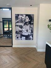 Kundenfoto: Sophia Loren Porträt von Giovani Zanolino, als akustikbild
