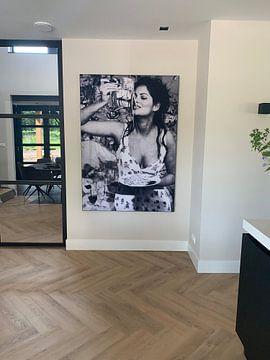 Klantfoto: Sophia Loren Portret van Giovani Zanolino