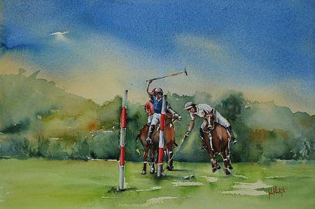 Polospelers in Domburg II