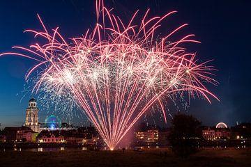 Vuurwerk bij Deventer von VOSbeeld fotografie