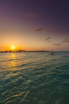 Zanzibar sunset 2 van Andy Troy