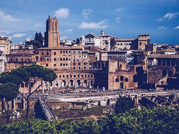 Rom – Trajansforum / Torre delle Milizie von Alexander Voss