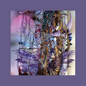 Rêve en violet sur Annabella Rharbaoui