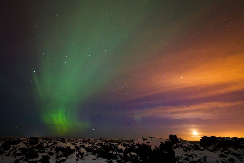 Aurora Borealis von Arnold van Wijk