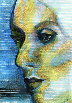 Au bord de la mer sur ART Eva Maria