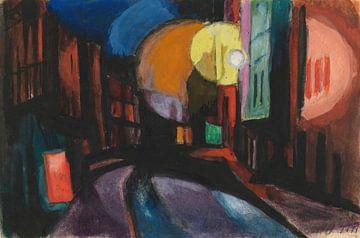 Oscar Florianus Bluemner-Platz der Nacht