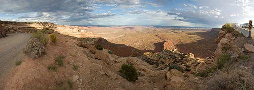 Moki Dugway panoramic view