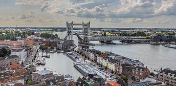 Dordrecht vanaf de Grote Kerk van Lizanne van Spanje