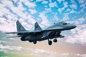 Mikojan-Goerevitsj MiG-29 #4 van Gert Hilbink