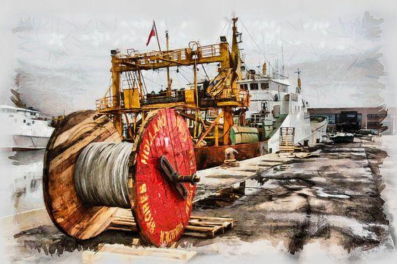 Zeehaven IJmuiden van Michel Derksen