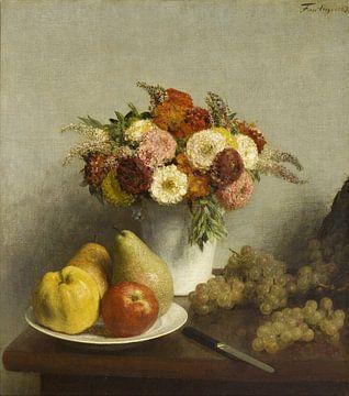 Fleurs et fruits, Henri Fantin-Latour