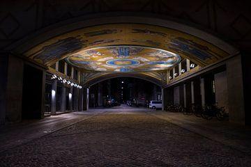 Lackierter Tunnel in Kopenhagen von Kelvin Middelink