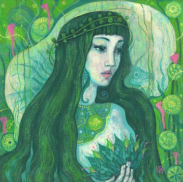 Meerjungfrau von Julia Khoroshikh