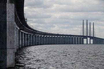 Oresundbrug, Zweden van Sebastiaan Aaldering