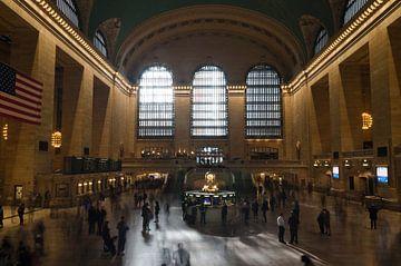 Grand Central Terminal, New York van Hans Peter Debets