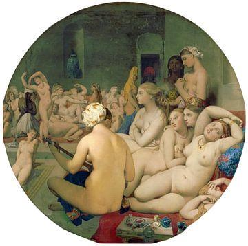 Das türkische Bad - Jean Auguste Dominique Ingres