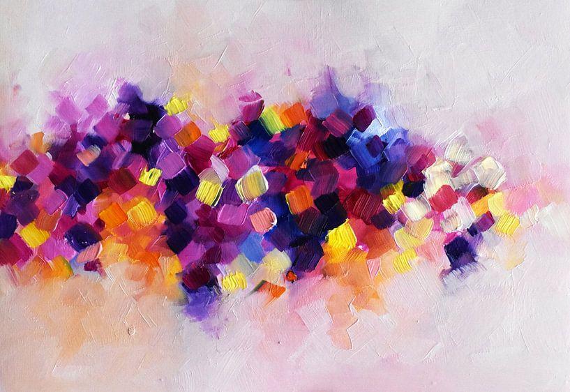Rainbow Waves van Maria Kitano