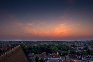 Sunset in Alkmaar sur Pim Korver