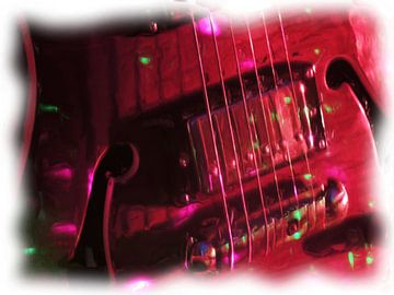 Gitarre von Maurice Dawson