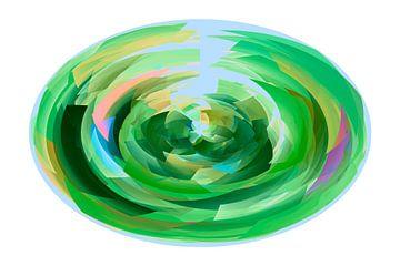 Ovala verda kubismo