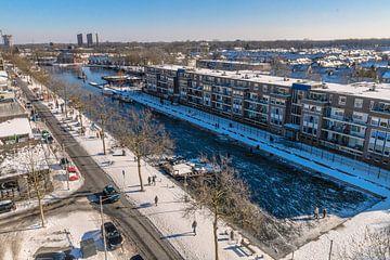 Piushaven in de Sneeuw