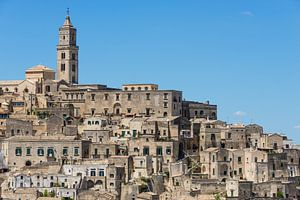 Alte Häuser in der italienischen Stadt Matera