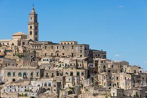 Sassi di Matera stadsbeeld in Italië