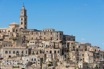 Sassi di Matera stadsbeeld in Italië van