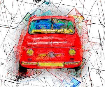 Red car van Leopold Brix