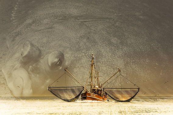 Vissersschip NOR 232 van Johan Kalthof