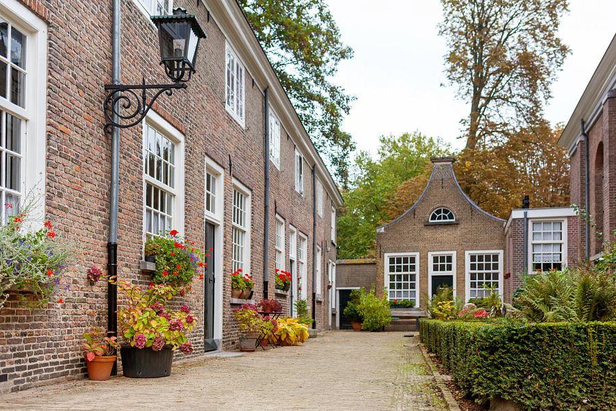 Begijnhof Breda van Elly Damen